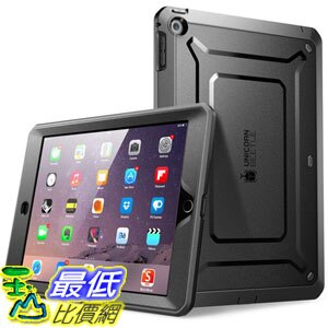 [104美國直購] SUPCASE B00OWYI8YA Apple iPad Mini 3 Case [with Touch ID][Unicorn Beetle] 黑色款 保護殼 保護套 TC2