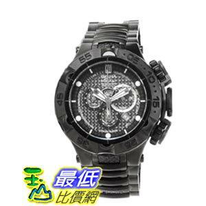 [美國直購 ShopUSA] Invicta Jason Taylor Chronograph Carbon Fiber Dial Black Ion-plated 男士手錶 14413