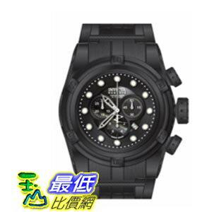 [美國直購 ShopUSA] Invicta Bolt Chronograph Black Dial Black PVD Stainless Steel 男士手錶 12730