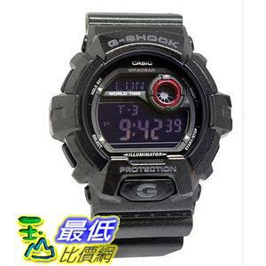 [美國直購 ShopUSA] Casio G-Shock Multi-Function Digital Black Resin 男士手錶 G8900SH-1CR bfy