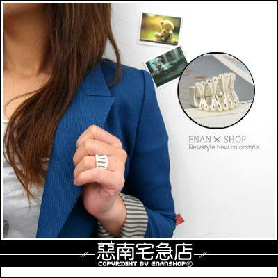 惡南宅急店【0236C】首爾漫遊‧高級合金戒指『完美主義』專屬女生款‧單戒價