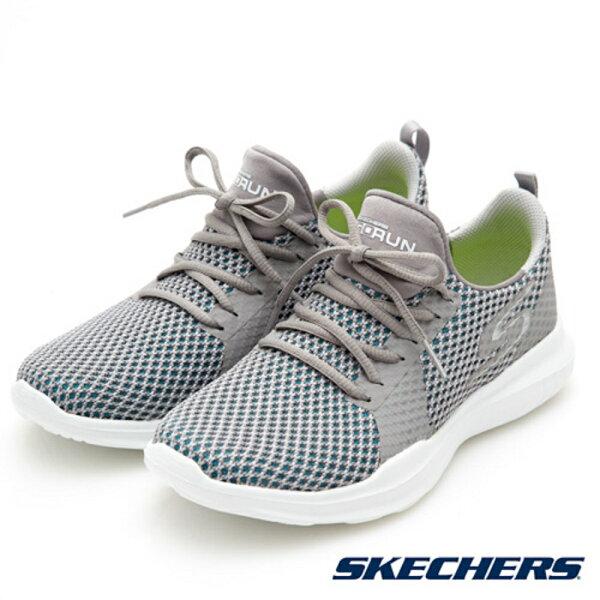 SKECHERS(女)跑步系列GORUNMOJO(灰)慢跑鞋-14812LTBL【胖媛的店】