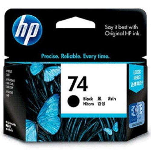 【HP 墨水匣】HP CB335WA NO.74 黑色原廠墨水匣