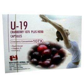 U-19蔓越莓膠囊60粒