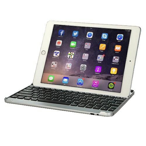 iPad Air / Air2 專用鋁合金藍牙鍵盤/保護殼.