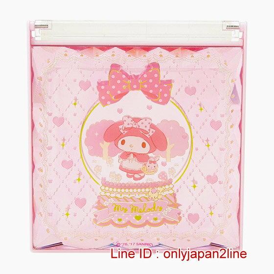 【真愛日本】4901610426630 日本製隨身雙折鏡-MM   三麗鷗家族 Melody 美樂蒂    鏡子 隨身鏡 正品 限量