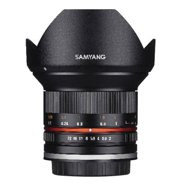 ◎相機專家◎SAMYANG12mmF2.0forCanonEOSM手動鏡APS-C公司貨保固一年