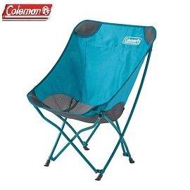 [ Coleman ] 包覆型療癒椅 水藍 / 折疊 附收納袋 / 公司貨 CM-23503